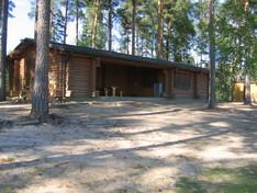 Ojutjärven huolto- /saunarakennus