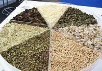 Peltobiomassaraaka-aineita
